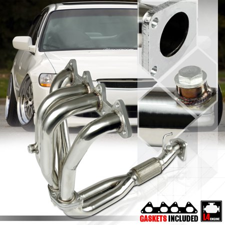 Stainless Steel 4-2-1 Exhaust Header Manifold for 98-02 Honda Accord 2.3 F23A I4 99 00 01