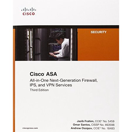 Cisco ASA All-in-one Next-Generation Firewall IPS and VPN Services (3rd Edition) by Jazib (Best Vpn Service For Android)