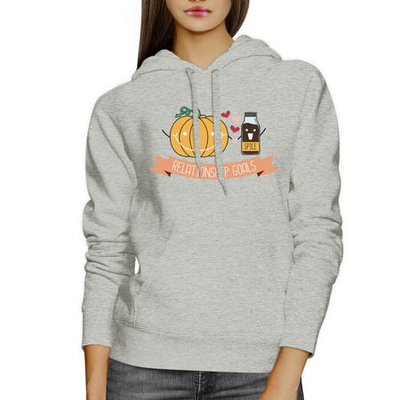 Pumpkin Spice Cute Couple Matching Hoodies Halloween Outfits Ideas