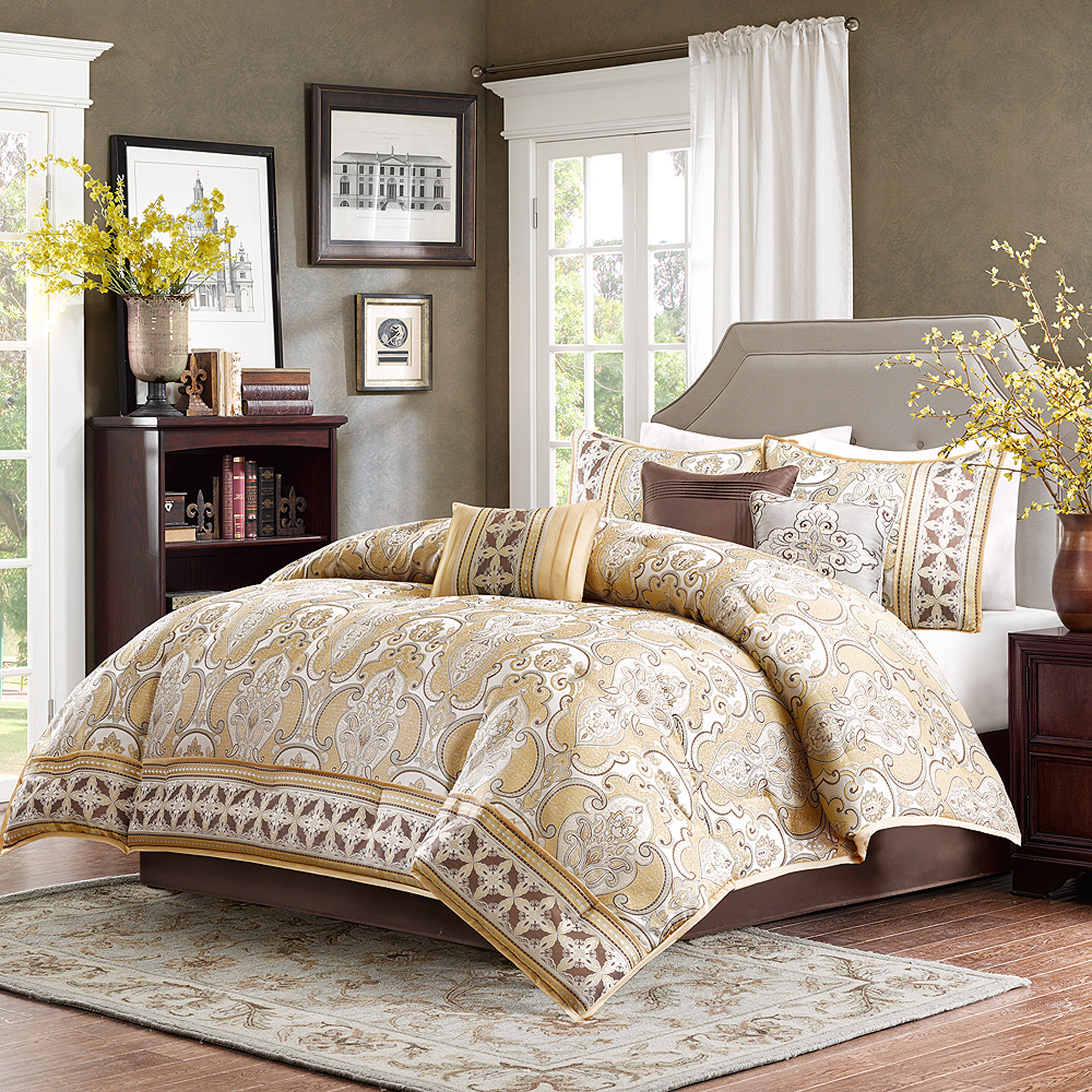 Home Essence Dawson Bedding forter Set Walmart