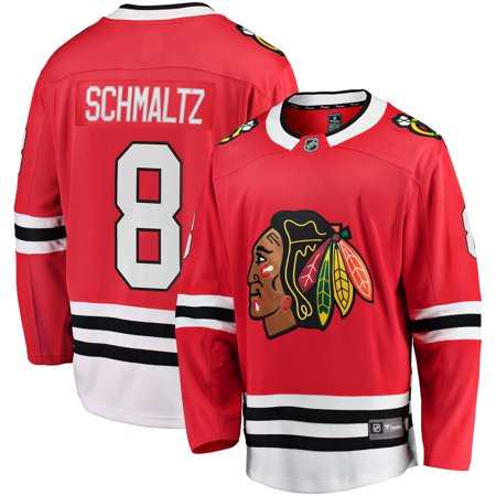 Nick Schmaltz Chicago Blackhawks Fanatics Branded Youth Breakaway Player Jersey -