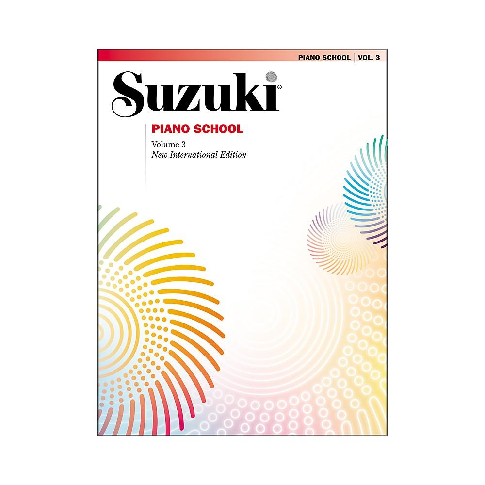 Suzuki Suzuki Piano School New International Edition Piano Book Volume 3