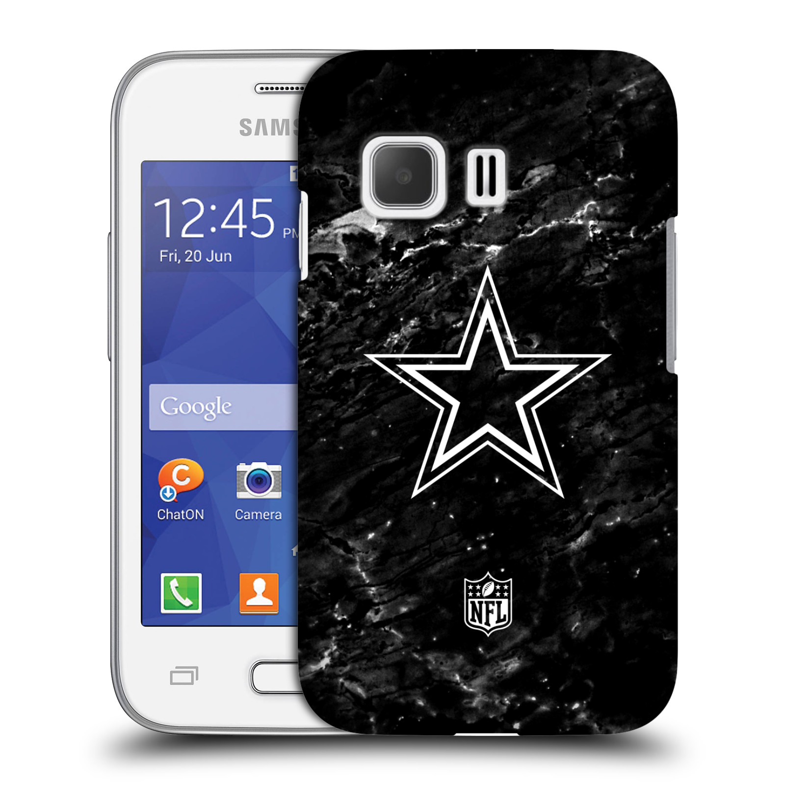 OFFICIAL NFL 2017/18 DALLAS COWBOYS LOGO HARD BACK CASE FOR SAMSUNG PHONES 3