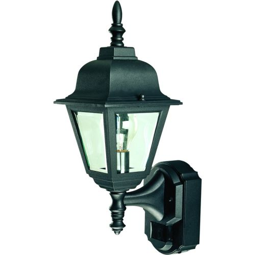 Heath Zenith HZ-4191 1 Light 180 Degree Motion Activated Outdoor Wall Sconce