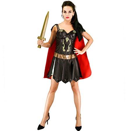 Women's Roman Warrior Costume (L) RedBrown - image 1 of 1