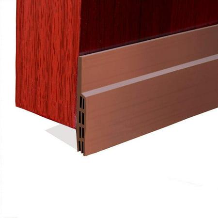 1 Pack Energy Saver Under Door Draft Blocker Strong Adhesive Door Weather  Stripping Door Under Seal Soundproof and Bugs Stopper, 2