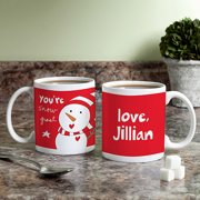 Personalized Sandra Magsamen Coffee Mug - You're Snow Great