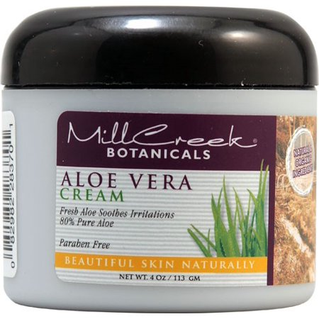 Mill Creek Aloe Vera Cream, 4 Oz Aloe Vera Salt Cream