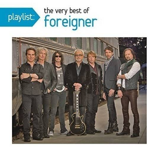 FOREIGNER-PLAYLIST-VERY BEST OF (CD/COMPILATION)