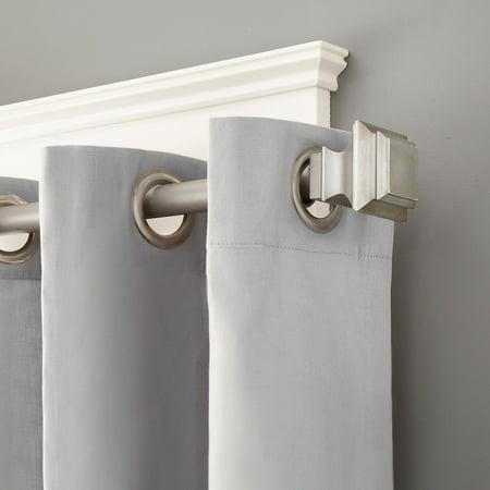 Kenney Lincoln Window Curtain Rod 1 Diameter 48 86 Length