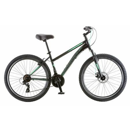 26u0022 Schwinn Sidewinder Womens Mountain Bike, Black/Teal