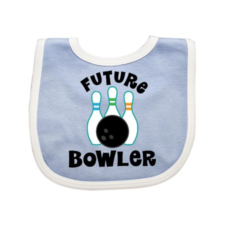 Future Bowling Childs Bowling Baby Bib - Bubble Blowing Double Baby