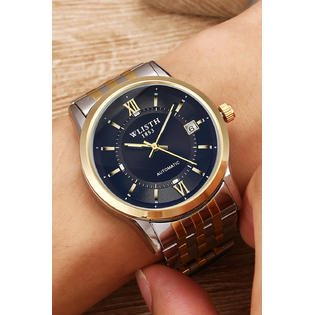 Men Beautiful Round Dialer Waterproof Watch