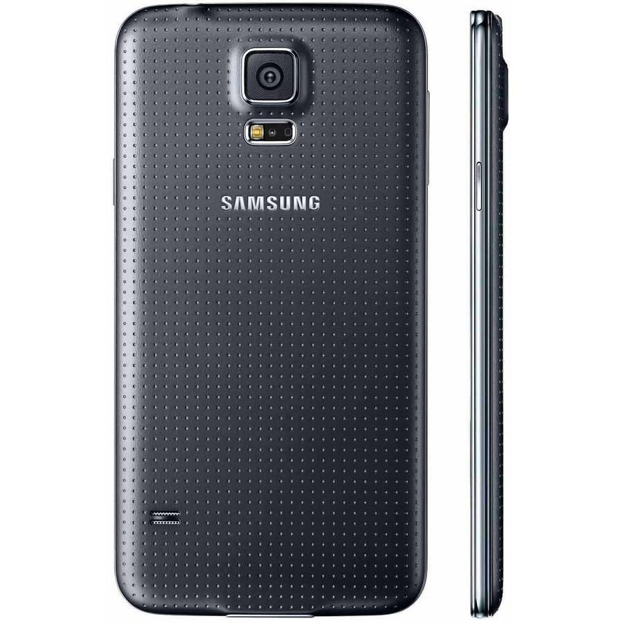 samsung galaxy s5 white vs black. verizon samsung galaxy s5 g900v 16gb refurbished smartphone, black image 3 of white vs