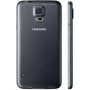 samsung galaxy s5 white vs black. verizon samsung galaxy s5 g900v 16gb refurbished smartphone, black image 3 of white vs