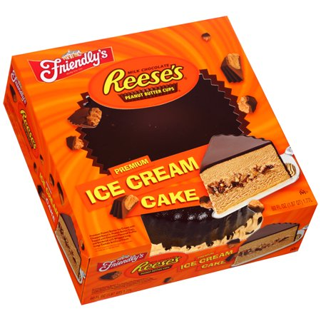 Friendly S Reese S Ice Cream Cake