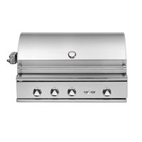 Delta Heat 38 Inch Propane Grill with Interior Lights & Rotisserie