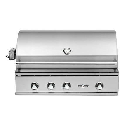 Delta Heat 38 Inch Natural Gas Grill with Infrared Rotisserie and Sear Zone ()