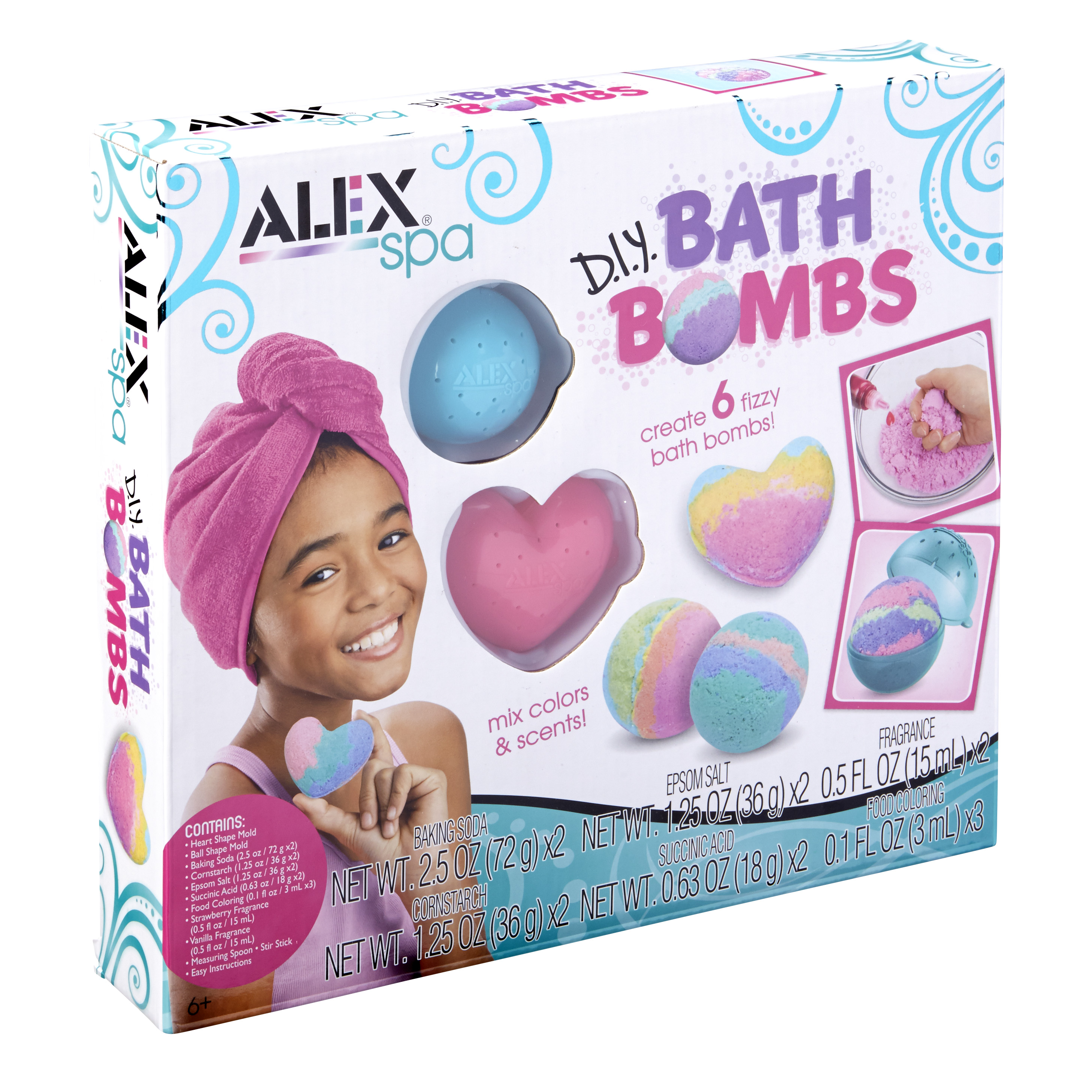 ALEX Spa DIY Bath Bombs