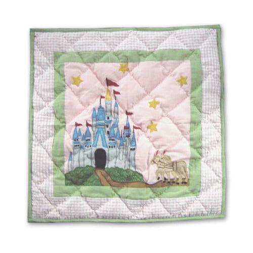 Patch Magic Fairy Tale Princess Cotton Throw Pillow