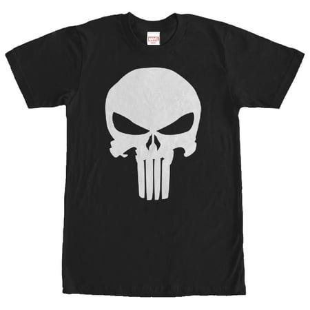5454cc597 Marvel - Marvel Men's Punisher Classic Skull Symbol T-Shirt - Walmart.com