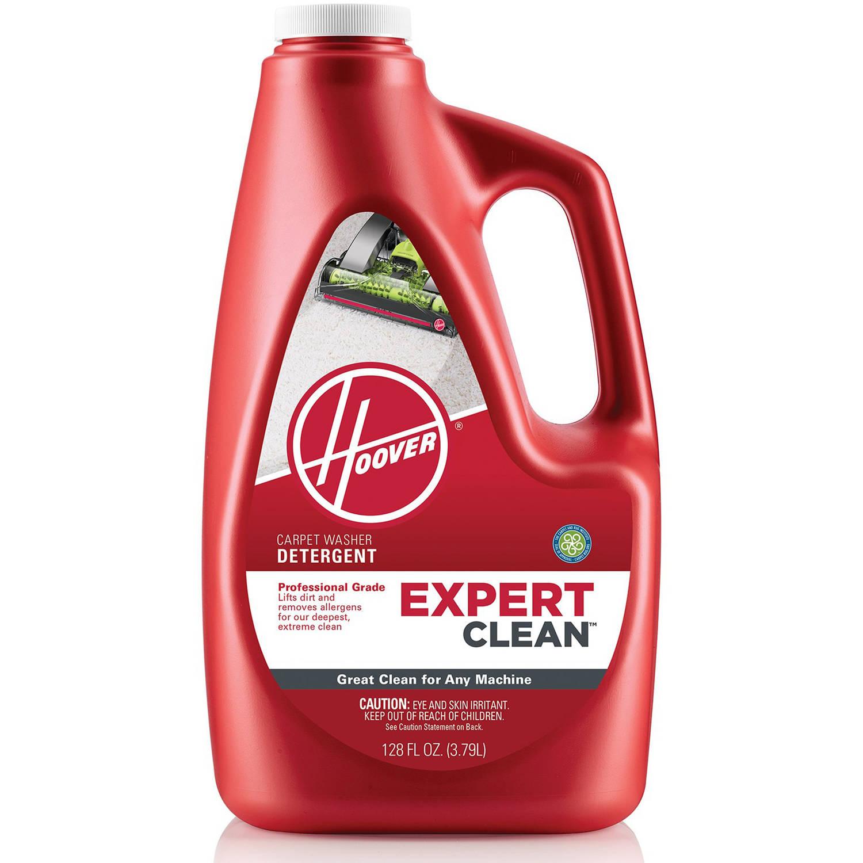Hoover expert clean carpet cleaner detergent 128 oz walmart com