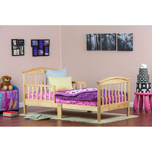Dream On Me Mission Collection Toddler Bed (Your Choice in Finish)