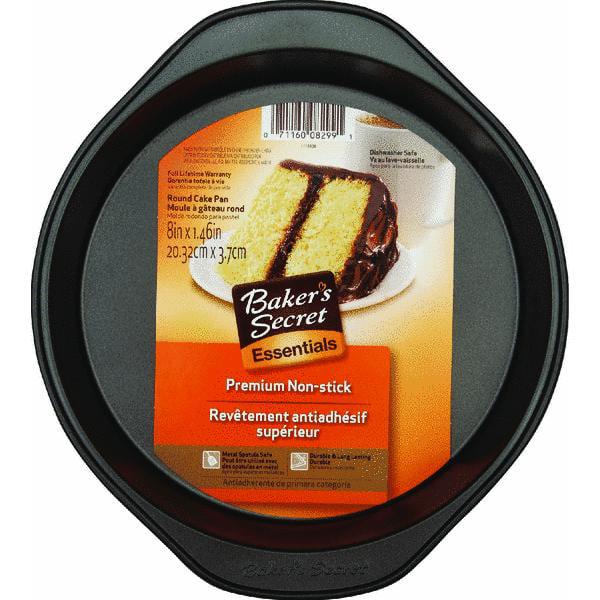 Baker's Secret 8 Round Cake Pan