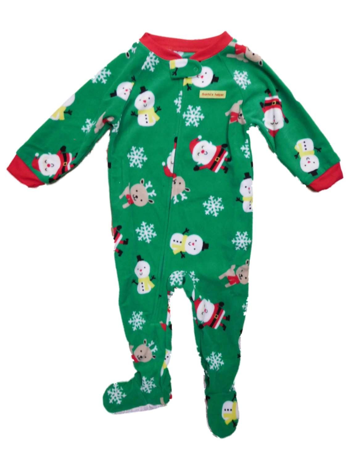 Baby Boys' Holiday Blanket Fleece