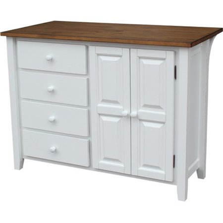 Just Cabinets Furniture And More Belmont Kitchen Island Walmartcom - Kitchen islands at walmart