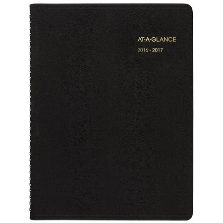 At A Glance Academic Year Weekly Appointment Book   Planner  July 2016   August 2017  8 1 4  X10 7 8    Black  7095705   Academic Weekly Appointment Book Covers 13    By Ataglance