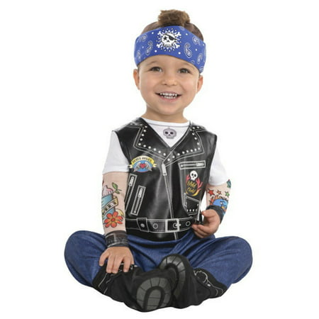 Boys Biker Costume (Baby Biker Infant Boys 12 - 24 Months)