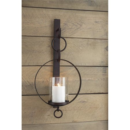 Ashley Furniture Ogaleesha Candle Wall Sconce in Brown - image 1 of 2