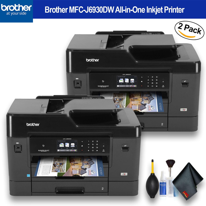 Brother MFC-J6930DW All-in-One Inkjet Printer 2 - Pack Bundle