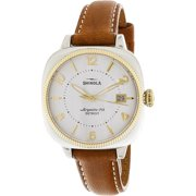 Shinola Women's Gomelsky S0120001104 Silver Leather Quartz Fashion Watch