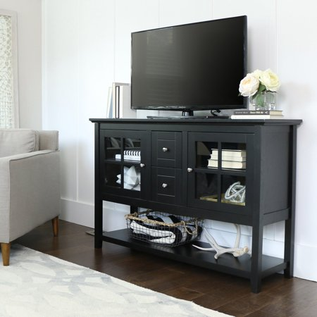 52 Wood Console Table Buffet Tv Stand For S Up To 55 Multiple Finishes