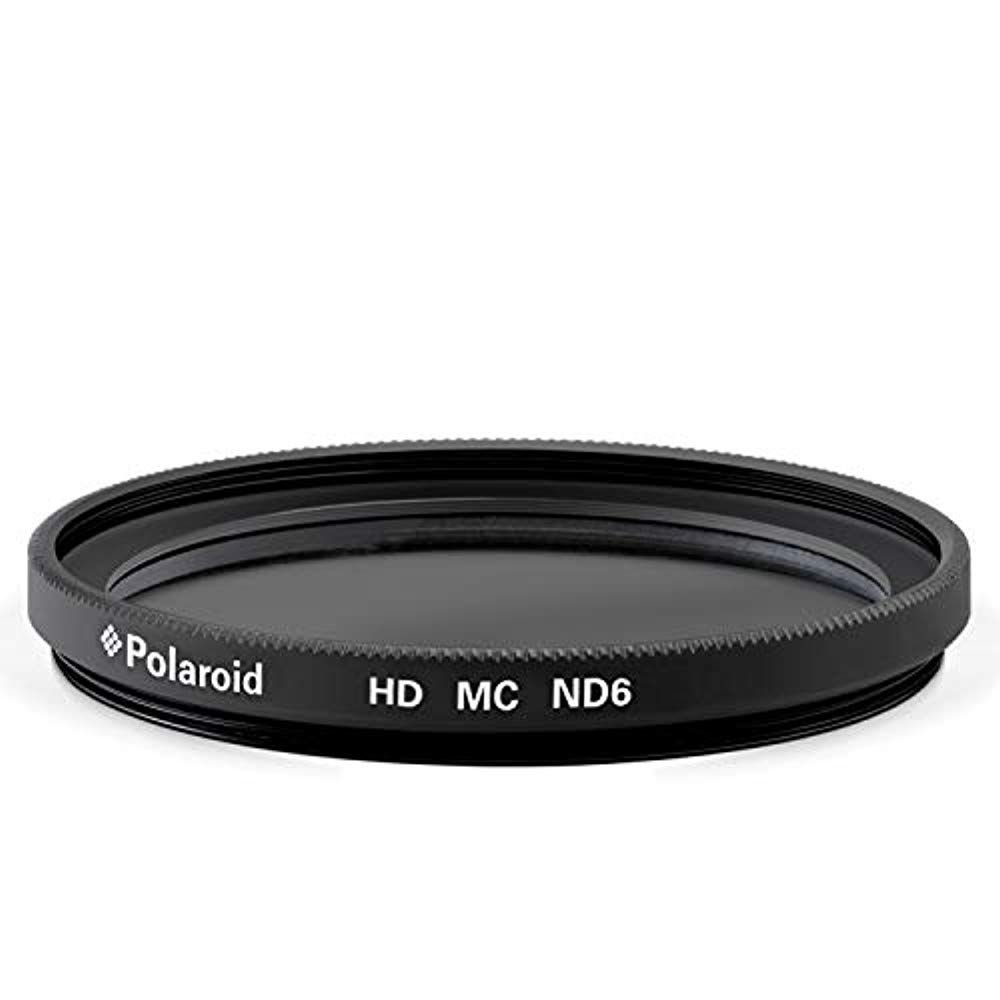 ND3, ND6, ND9, ND16, ND32, ND400 Compatible w// All Popular Camera Lens Models Polaroid Optics 62mm Multi-Coated Variable Range Neutral Density Fader Filter ND2-ND2000