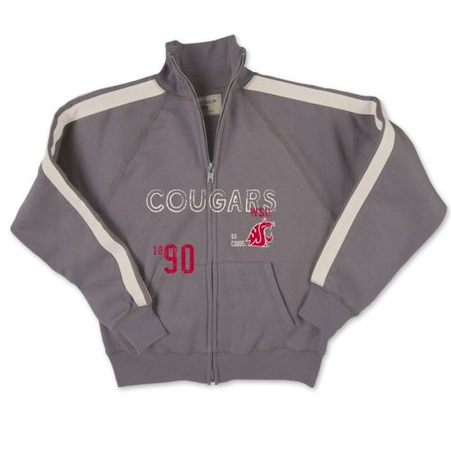 Washington State Cougars Kid's Full-zip Jacket