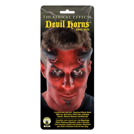 Small Devil Horns Adult Costume Makeup