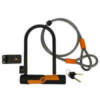 OnGuard OG Series Double Team Bicycle U-Lock w/ 4-Foot Cable