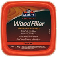 Elmers E848D12 Paintable Wood Filler, 0.5 pt