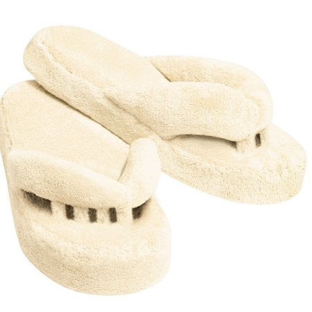 THE BEST Women's Comfort Toe Straightener Spa And Relax Slippers Fur