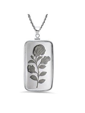 20 gram Silver - Rosa Pendant (w/Chain)