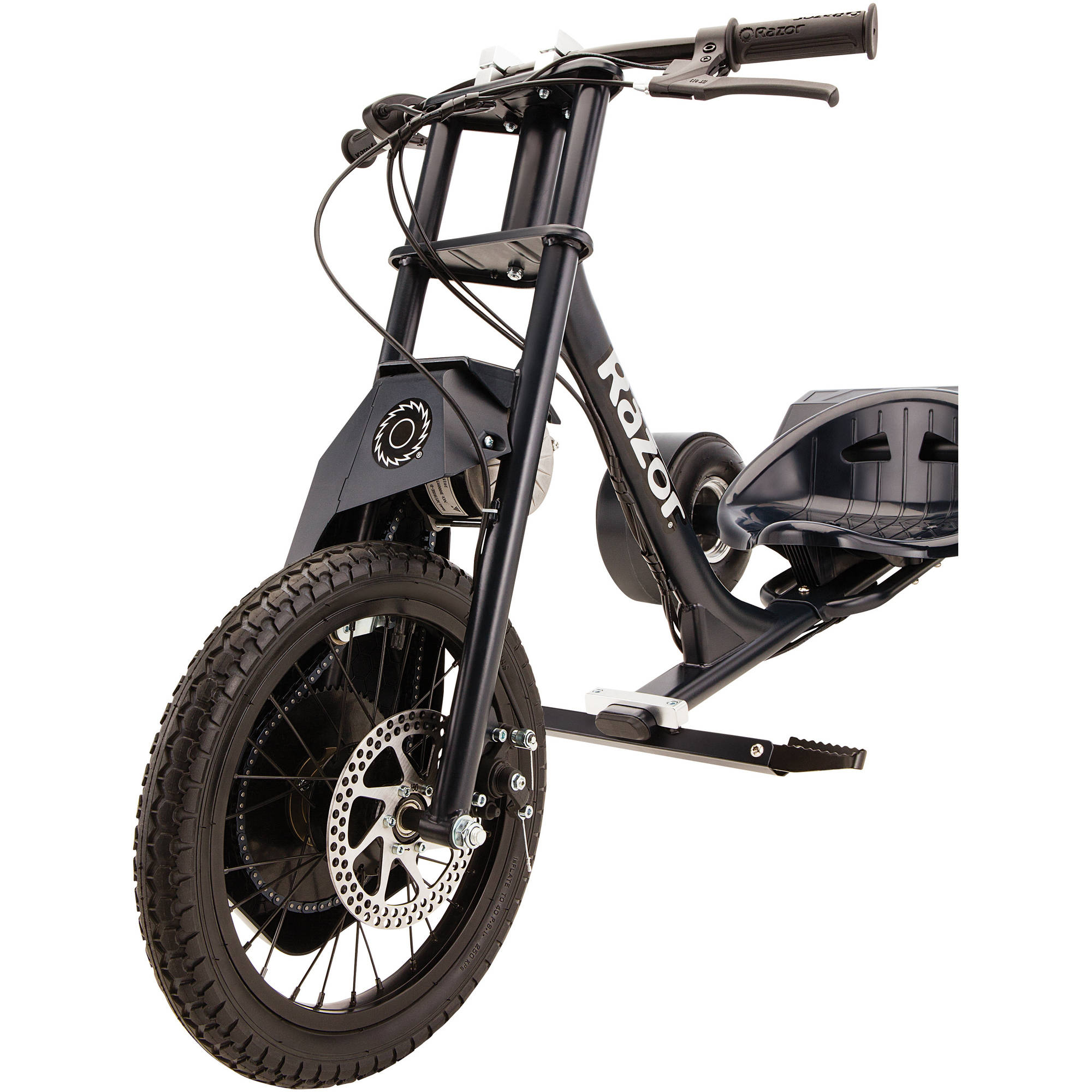 razor dxt electric drift trike ebay. Black Bedroom Furniture Sets. Home Design Ideas