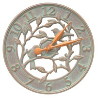 Whitehall Products Woodridge 16-in. Indoor/Outdoor Wall Clock