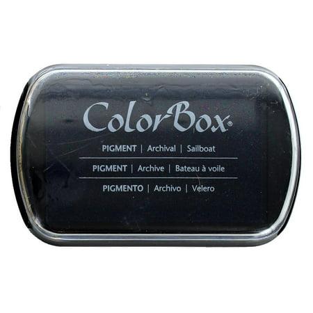 ColorBox Pigment Ink Pad Full Sz Sailboat](Sailboat Supplies)