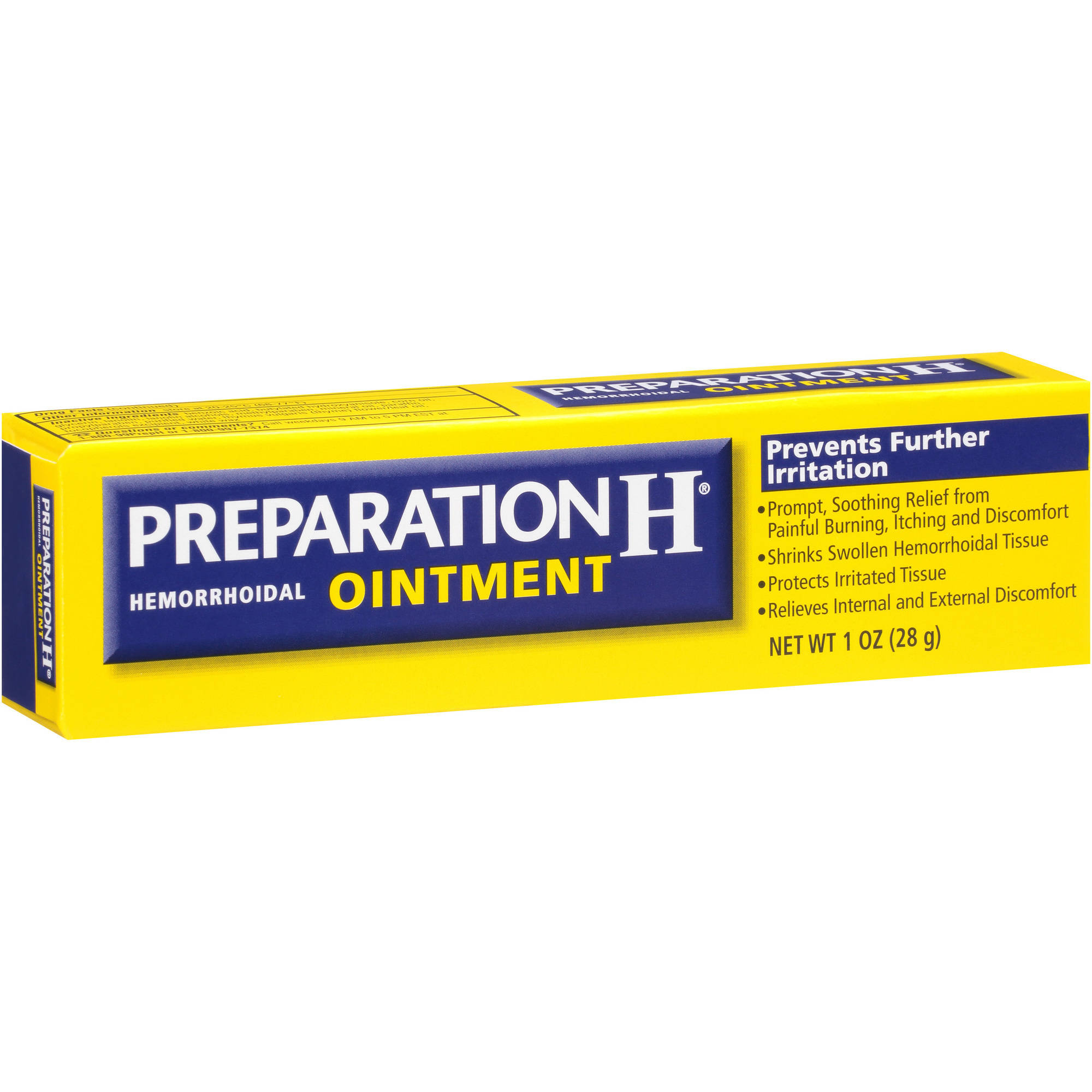 Preparation H Ointment Hemorrhoidal Ointment, 1 oz