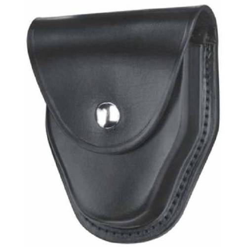 """Gould & Goodrich B470WBR Handcuff Case Place On Belt up to 2-1/4"""", Black Weave"""