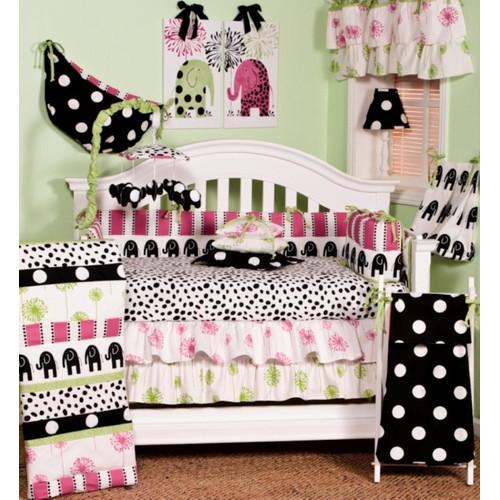 Cotton Tale Hottsie Dottsie 8 Piece Crib Bedding Set by Cotton Tale Designs