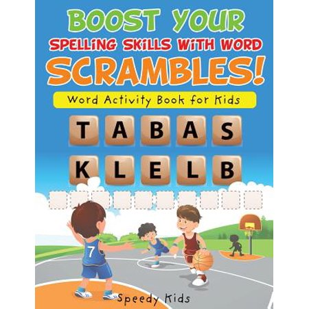 Boost Your Spelling Skills with Word Scrambles! Word Activity Book for Kids - Halloween Spelling Words